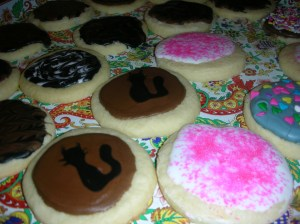 Kitty cookies!