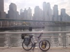 I rode my bike to New York City!